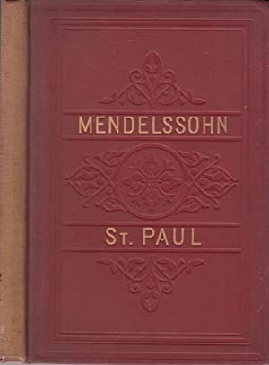 Saint Paul, An Oratorio In Vocal Score