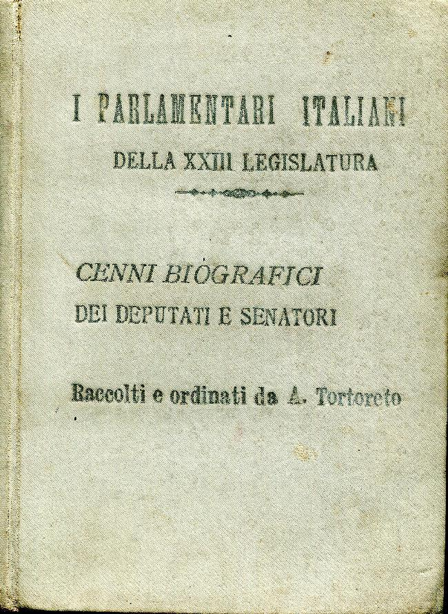 i parlamentari italiani della xxiii legislatura cenni ForI Parlamentari