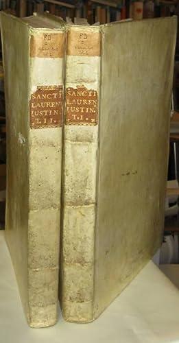 Sancti Laurentii Justiniani protopatriarchae Veneti opera omnia,: Iustinianus, Laurentius; cur.