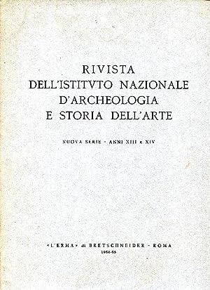 Rivista dell'Istituto Nazionale d'Archeologia e Storia dell'Arte.: AA.VV.