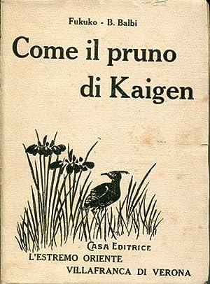 Come il pruno di Kaigen.: Fukuko, B. Balbi