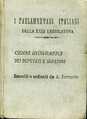 i parlamentari italiani della xxiii legislatura cenni