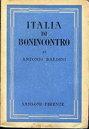 ITALIA DI BONINCONTRO.: BALDINI ANTONIO.
