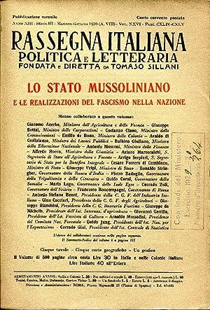 Rassegna italiana politica letteraria e artistica. Lo: AA.VV.