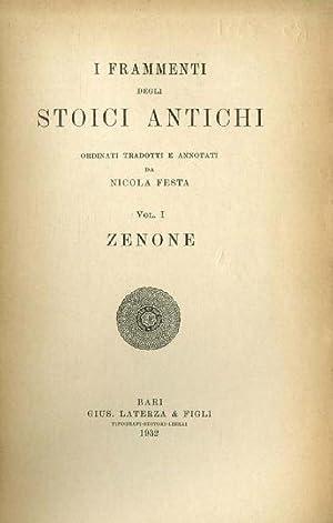 I frammenti degli stoici antichi. Ordinati, tradotti