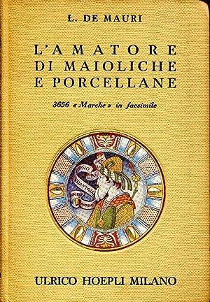L' amatore di maioliche e porcellane. Notizie: De Mauri L.