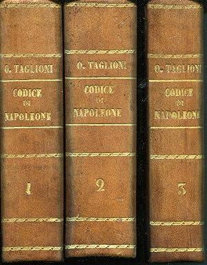 Codice civile di Napoleone il Grande col: Taglioni Onofrio