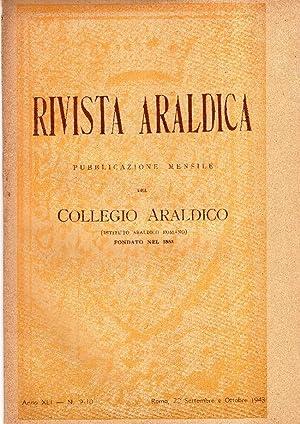 Rivista araldica. Pubblicazione mensile del Collegio Araldico: AA.VV.