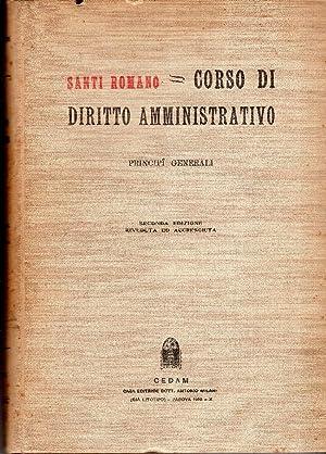 Corso di diritto amministrativo. Principi generali: Santi Romano