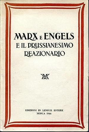 Marx e Engels e il prussianesimo reazionario: Mitin M.