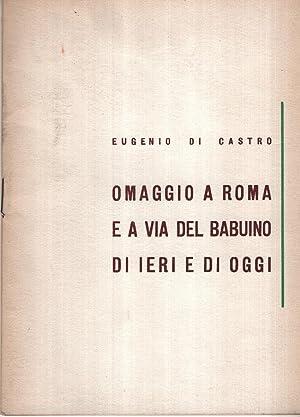 Omaggio a Roma e a via del: Di Castro Eugenio