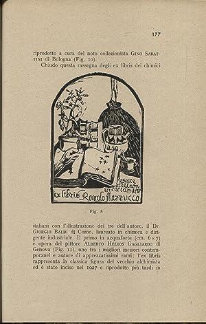 Gli ex-libris dei chimici e dei farmacisti: Balbi Giorgio