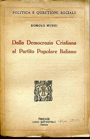 Dalla democrazia cristiana al partito popolare italiano - Vendere casa popolare riscattata ...