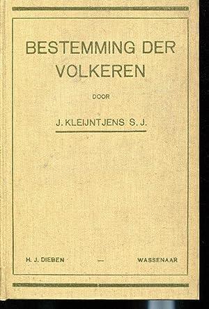 Bestemming der volkeren (voor U.L.O.-scholen en inrichtingen: J Kleijntjens