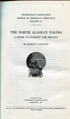 The North Alaskan Eskimo. A study in ecology and society.