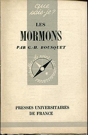 Les Mormons: BOUSQUET (G. H.)