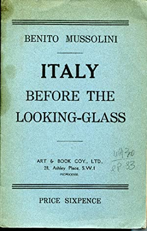 Italy before the looking-glass.