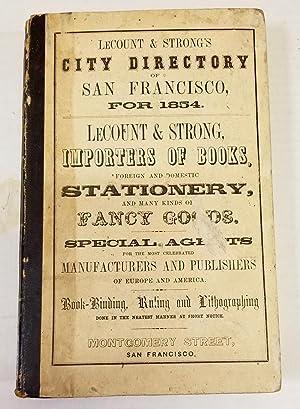 LeCount & Strong's San Francisco City Directory: SAN FRANCISCO)