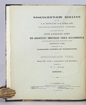 Wissenschaftliche Resultate der von N.M. Przewalski nach Central-Asien unternommenen Reisen ...