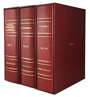 Oologia Universalis Palearctica, 78 parts (complete), in 3 volumes.