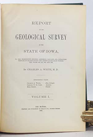 Report of the Geological Survey of the State of Iowa: To the Thirteenth General Assembly, January, ...