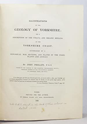 Illustrations of the Geology of Yorkshire; or, a description of the strata and organic remains, ...