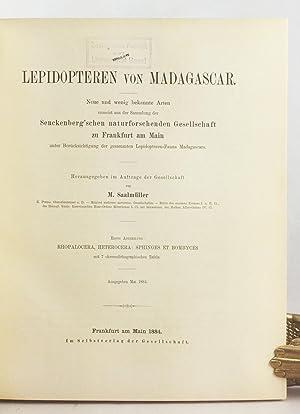 Lepidopteren von Madagascar. Neue und weig bekannte Arten zumeist aus der Sammlung der Senckenberg&...
