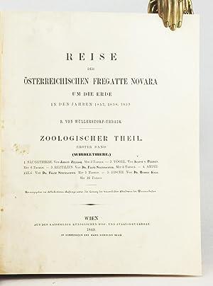Reise der Österreichischen Fregatte Novara um die Erde in den Jahren 1857, 1858, 1859. ...