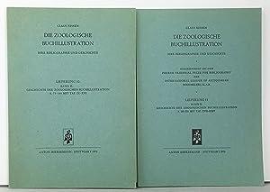 Die Zoologische Buchillustration. Ihre Geschichte und Bibliographie,: Nissen, Claus