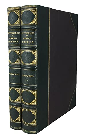 The Butterflies of North America, in 2 volumes (first series and second series).