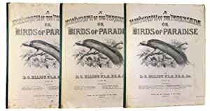 A Monograph of the Paradiseidae, or Birds of Paradise, Parts II, III, and VI only (of seven total...