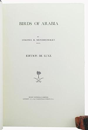 Birds of Arabia.: Meinertzhagen, Richard