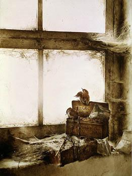 """Treasure Chest"""" A Fine Limited Edition Print: Ching, Raymond Harris;"""