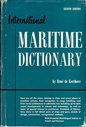 International Maritime Dictionary: de Kerchove, Rene