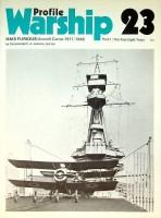 Profile Warship 23 HMS Furious Aircraftcarrier 1917-1948.: Jenkins, C.A.