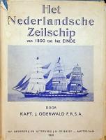 Het Nederlandsche zeilschip van 1800 tot het einde: Oderwald, Kapt. J.