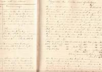 Origineel scheepsjournaal uit 1846 van het Barkschip Lewe van Nijenstein: Doornbos-Borchersch, D, ...