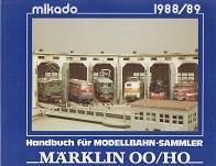Mikado Handbuch fur Modellbahn-Sammler 1988/89 Marklin OO/HO: Mikado
