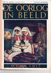 De oorlog in beeld. 7 ingebonden nummers: Illustrated London News