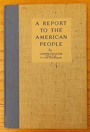joseph pulitzer - AbeBooks