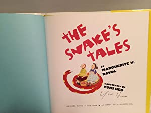 The Snake's Tale: Marguerite Davol, Yumi Heo (Illustrator)
