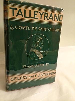 Talleyrand: Saint-Aulaire, Comte De