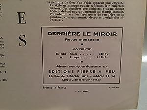 DERRIERE LE MIROIR N 18: Maeght, A. (editor)