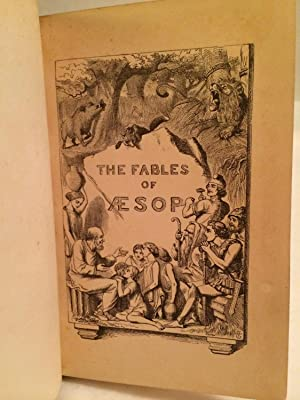 Aesop's Fables: A New Version, Chiefly from the Original Sources By Thomas James.: AESOP