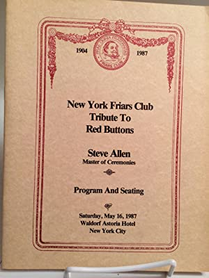 Friars Club Tribute to Red Buttons: Friars Club