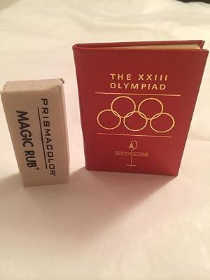 The XXIII Olympiad: Weber, Francis J.