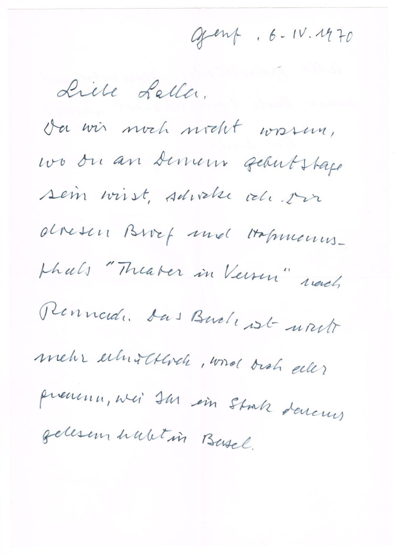 Fein Die Proben Des Beileids Letters Ideen - FORTSETZUNG ...