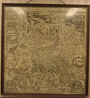 Archiducatus Austriæ Superioris Geographica Descriptio facta Anno: Oberösterreich - VISCHER,