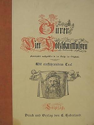 Vier Holzschnittfolgen phototypisch nachgebildet in der Größe: DÜRER, (Albrecht)