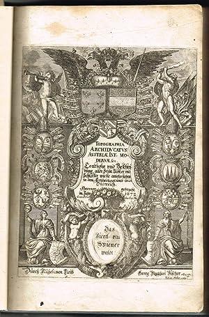 Topographia Archiducatus Austriae Inf[eriorae] Modernae, seu Controfee: VISCHER, Georg Matthaeus